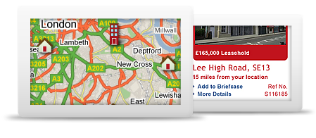 Website design for Estate Agents